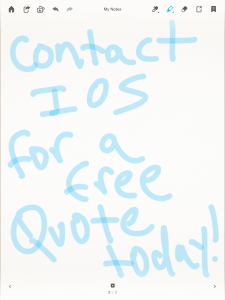Contact IOS for a free quote