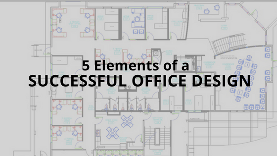 5 elements of a successful office design innovative